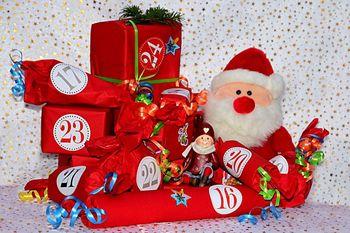 Weihnachtskalender basteln